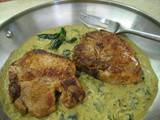 Pork Chops with Roasted Poblano Gravy