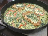Pork Florentine in Wine Sauce