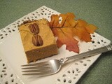 Pumpkin Cheesecake with Pecan-Chia-Flax Crust