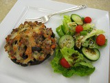 Sausage-Stuffed Portobello Mushrooms