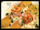 Shrimp Crepes