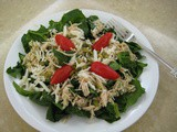 Sofrito Chicken-Spinach Salad