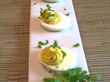 Sofrito Deviled Eggs