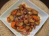 Spiced Roasted Parsnips & Carrots