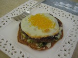 Spinach-Egg Breakfast Stack