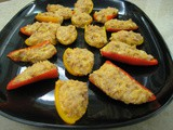 Tuna-Cheese Stuffed Mini Peppers