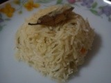 Pilaf - South Indian Style !!! Thengai pal sadam or coconut milk rice