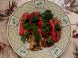 Vegetarian Holiday Recipes: Sweet Pepper Poppers Recipe by Stacey Adams