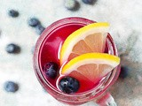 Simple Blueberry Lemonade
