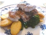 Pork Loin with Tarragon and Paprika Potatoes