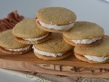Baked Sunday Mornings - Malted Milk Sandwich Cookies