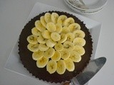 Ffwd - Double Chocolate Banana Tart