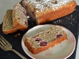 French Fridays w/Dorie - Ispahan Loaf Cake