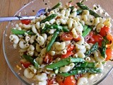 Guest Post from Crazy Lou - Pasta Salad w/Asparagus & Basil Vinaigrette