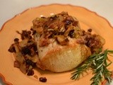 Pork Loin with Pear-Cranberry Chutney