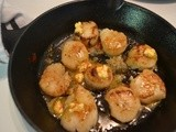 Sauteed Scallops with Sweet Chili Lime Butter