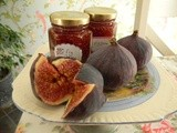 Delicious simple fig jam