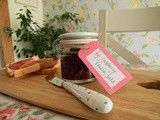 Late summer, fig, raspberry & vanilla jam