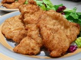 Breaded Pork Cutlet With Salad Recipe: Crispy And Juicy Game-Day Recipe