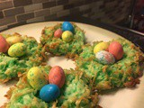 Coconut Macaroon Easter Egg Nests Recipe: Rebirth Of An Old Recipe