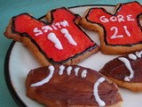 Football Themed Sugar Cookies: Bring Home a Taste of Football Madness