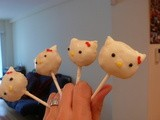 Hello Kitty Cake Pops: Cute Kittahs On Sticks