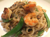 Prawn Pad Thai Recipe - Easy Snowpeasy