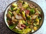 Sautéed Brussels Sprouts with Bacon Recipe: Perfect Holiday Dinner Side Dish