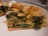 Spinach, Bacon And Feta Filo Pie Recipe: Carmen Takes On (And Changes!) Jamie Oliver's Dish