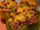 Stuff it! Low Carb Cheesey Stuffed Peppers Recipe