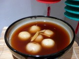 Sweet Glutinous Rice Balls Of Love Recipe:  Valentine's Day Aisan Style