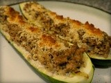 Turkey Stuffed Zucchini Boats: Another Easy Low-carb Deliciousness