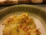 Acorn Squash au Gratin with Smoked Ham and Gouda
