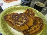 Boozy Vanilla French Toast
