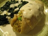 Broccoli Stuffed Tilapia