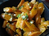 Carrots with Garlic and Cilantro
