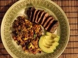 Cilantro-Lime Steak with Tex-Mex Quinoa