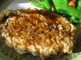 Crunchy Honey Garlic Chicken Breasts