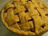 Drunken Cranberry Apple Pie