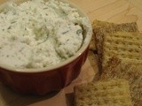 Goat Cheese with Roasted Garlic and Herbs