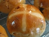 Honey Kissed Hot Cross Buns