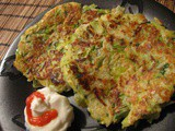 Leek, Potato and Zucchini Cakes