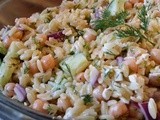 Lemon Dill Orzo Salad