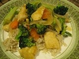 Orange Chicken with Broccoli