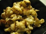 Oven Roasted Cumin Cauliflower
