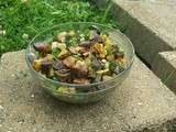 Roasted Potato Salad with Fennel Bacon Dressing