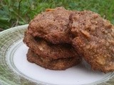 Spent Grain Cookies with Pecans and Coconut
