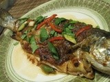 Trout with Tamarind Sauce