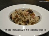 Bacon, Balsamic & Black Pudding Risotto – Organic September