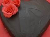 Easy Valentine's Chocolate Cake